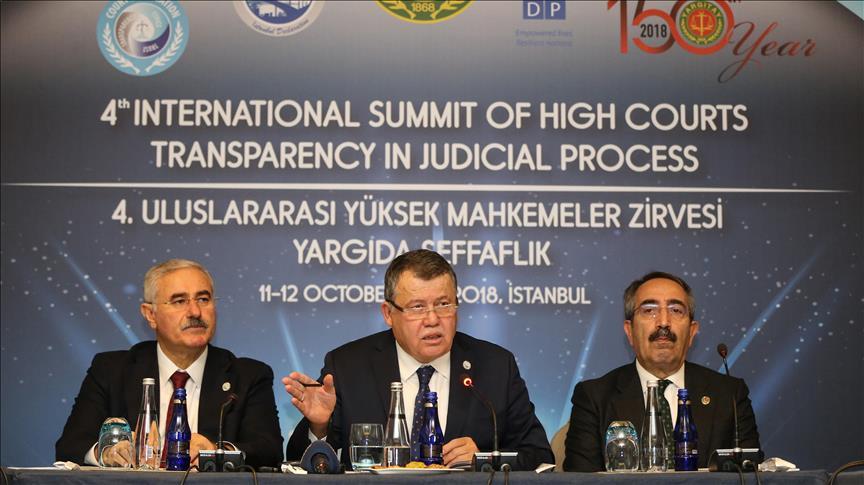 انطلاق القمة الدولية الرابعة للمحاكم العليا في إسطنبول