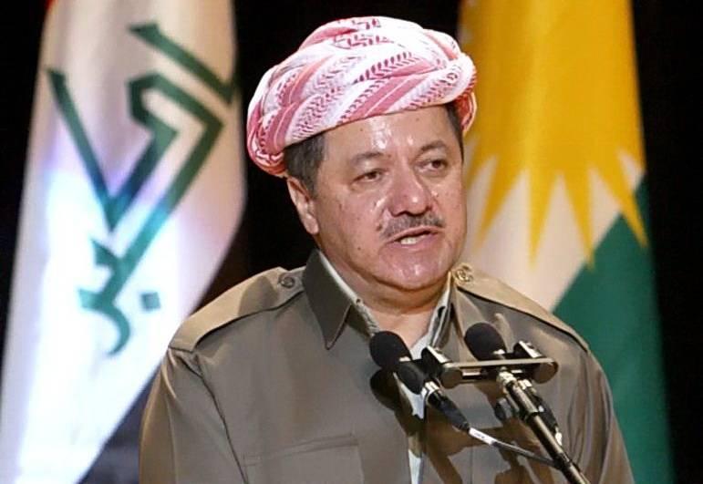 بارزاني: قرار إجراء استفتاء الانفصال عن العراق لا رجعة عنه