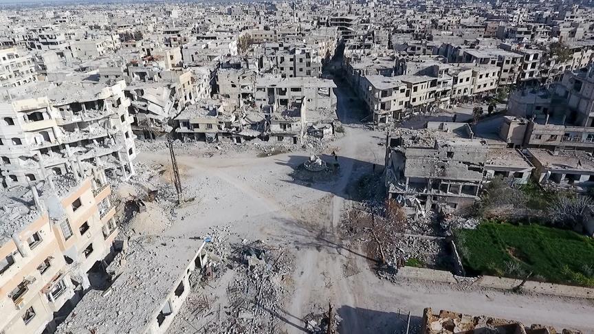 بدعم جوي روسي.. قوات النظام تشطر الغوطة الشرقية
