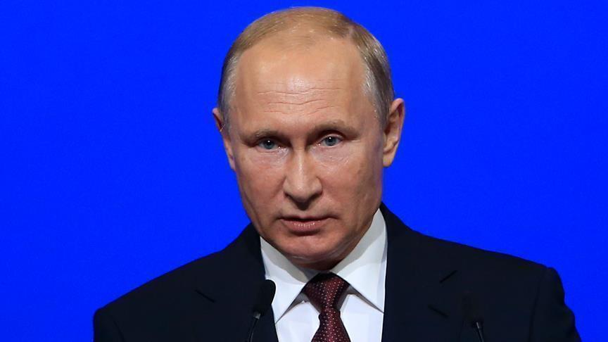 بوتين: روسيا ستواصل جهودها لحل مسألة