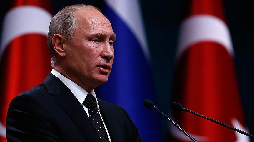 بوتين: مهتمون بتطوير علاقات جيدة تركيا