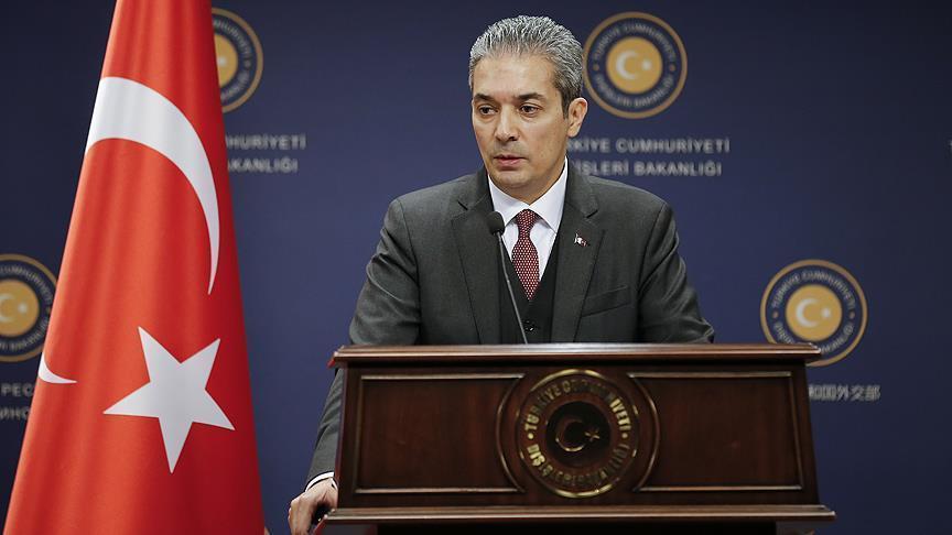 تركيا: تصريحات الصليب الأحمر لا تنم عن حسن نية