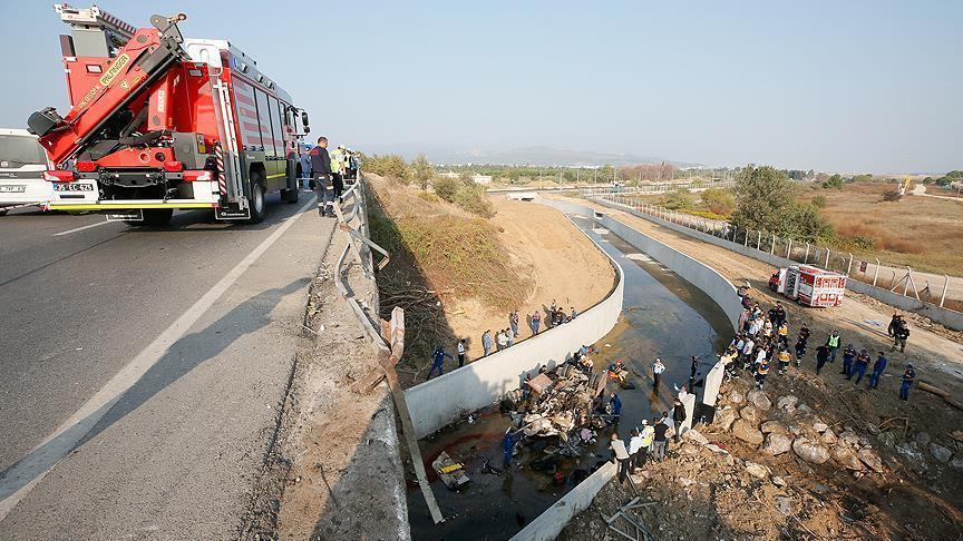 تركيا.. ارتفاع ضحايا شاحنة المهاجرين إلى 22
