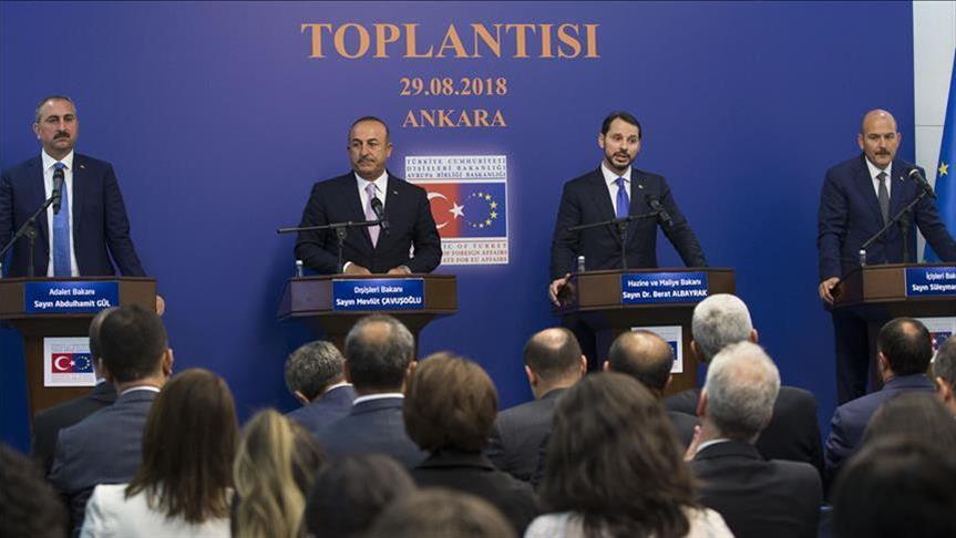 تركيا.. انتهاء الاجتماع الرابع لمجموعة العمل المعنية بالإصلاح