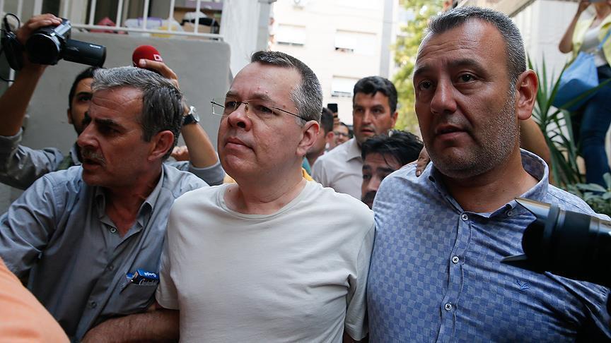 تركيا.. برونسون يطعن على قرار فرض الاقامة الجبرية عليه