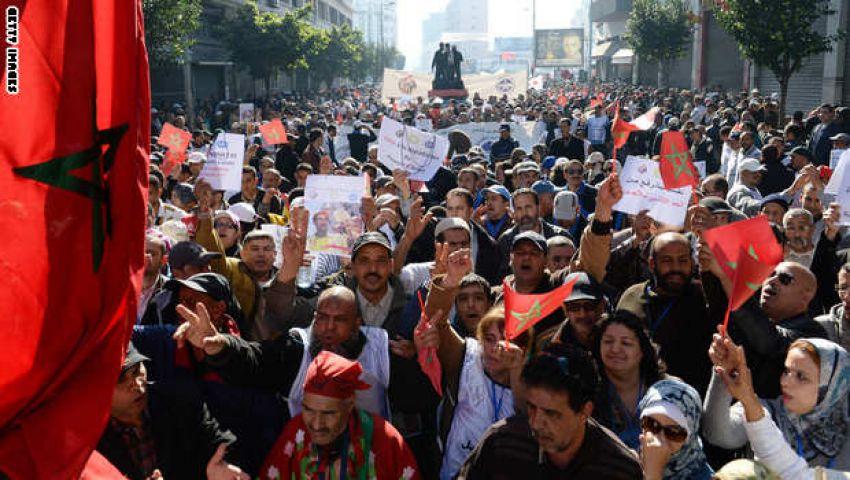 تواصل الاحتجاجات في مدن وقرى مغربية