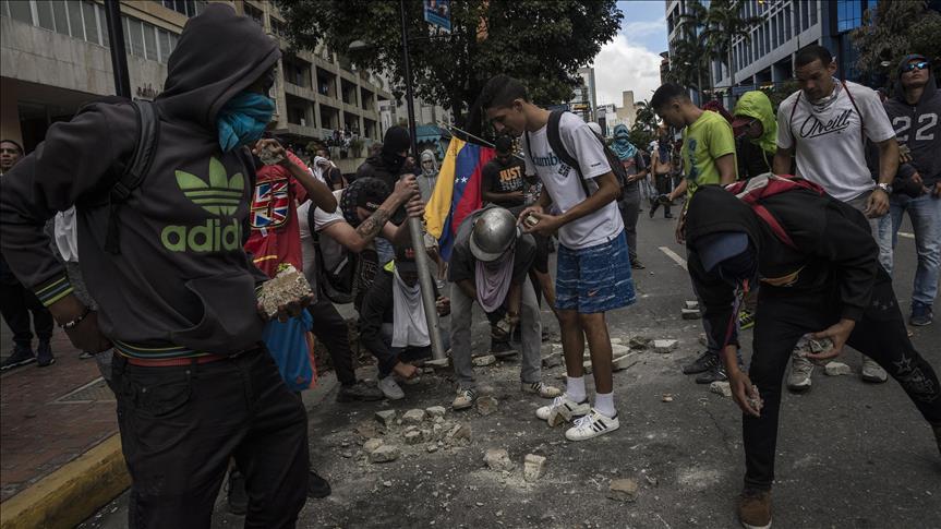 توقيف 268 خلال مظاهرات فنزويلا والمعارضة تتحدث عن قتلى