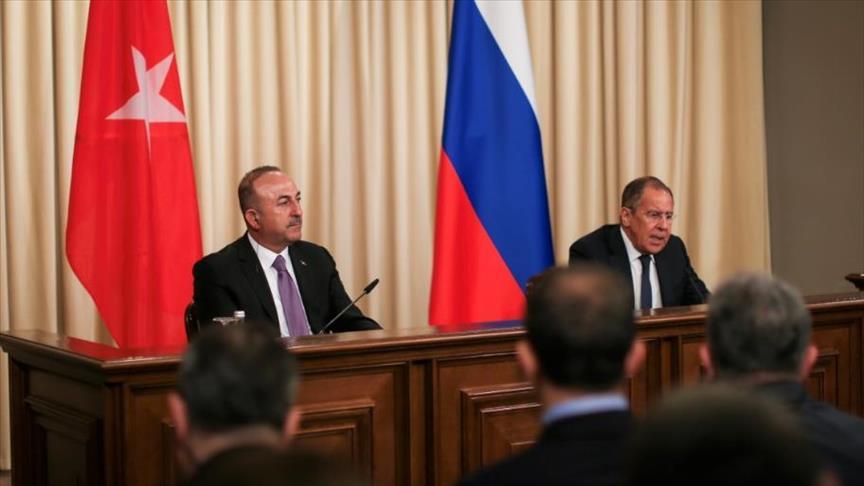 جاويش أوغلو: لقاءاتي في موسكو مهمة لقمة سوتشي ولمسار أستانة