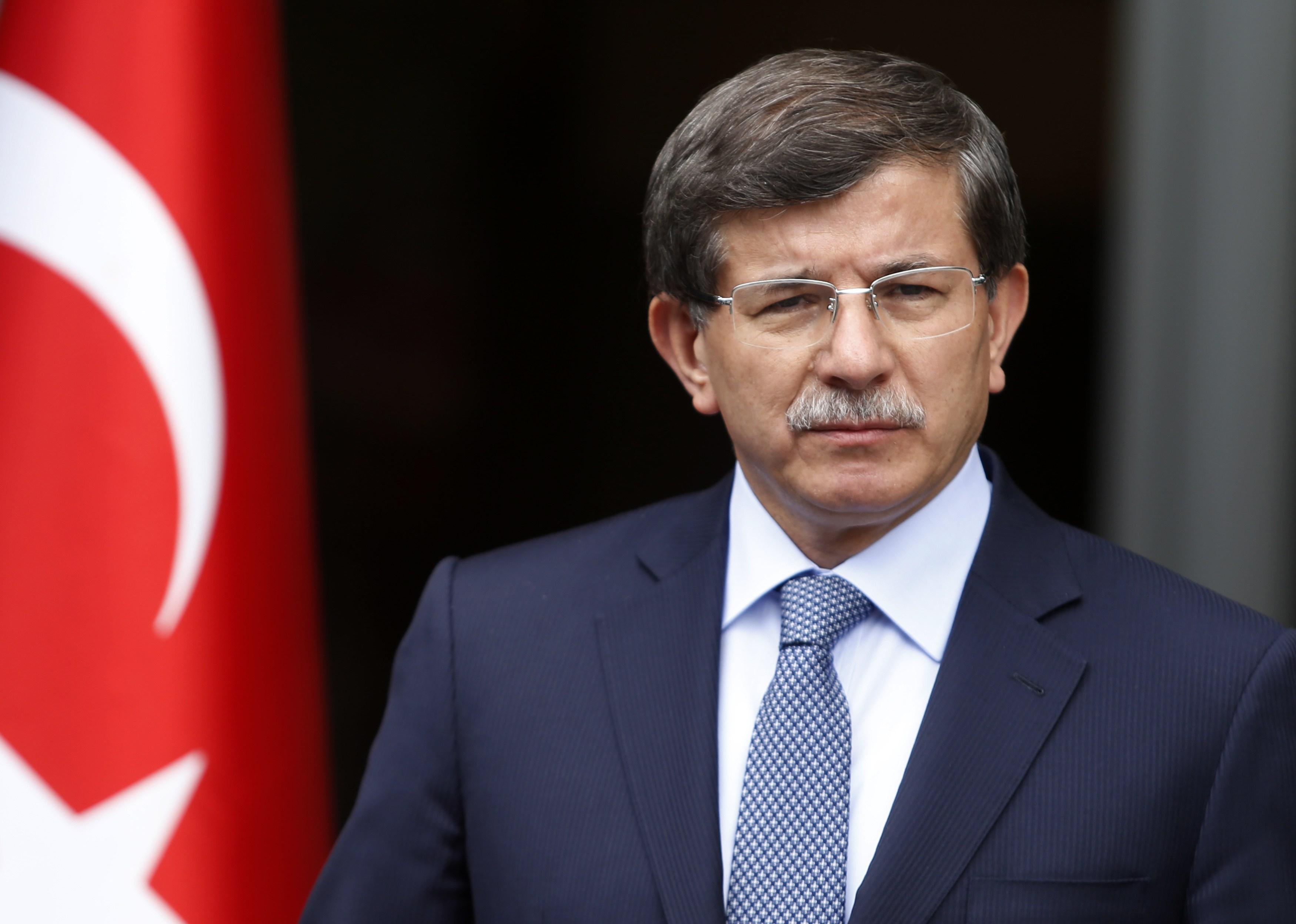 داود أوغلو: حق تركيا في تنفيذ