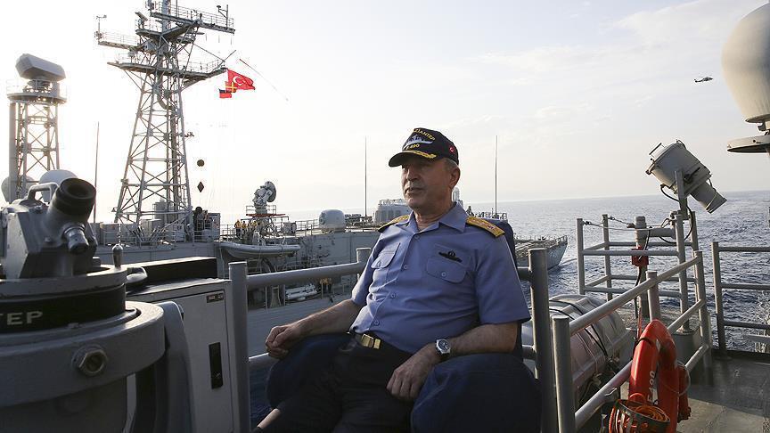 رئيس الأركان التركي: مستعدون لتنفيذ أي مهمة في بحر إيجة