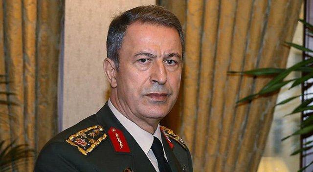 رئيس الأركان التركي يجدد دعوته لحل الأزمة في المنطقة