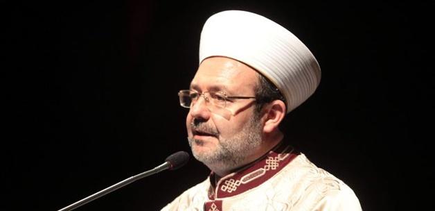 رئيس الشؤون الدينية بتركيا: خطاب