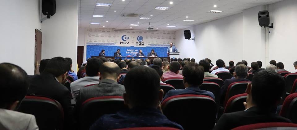 """رئيس جمعية شباب الأناضول صالح تورهان:""""نحن في آيا صوفيا في 12 مايو"""""""