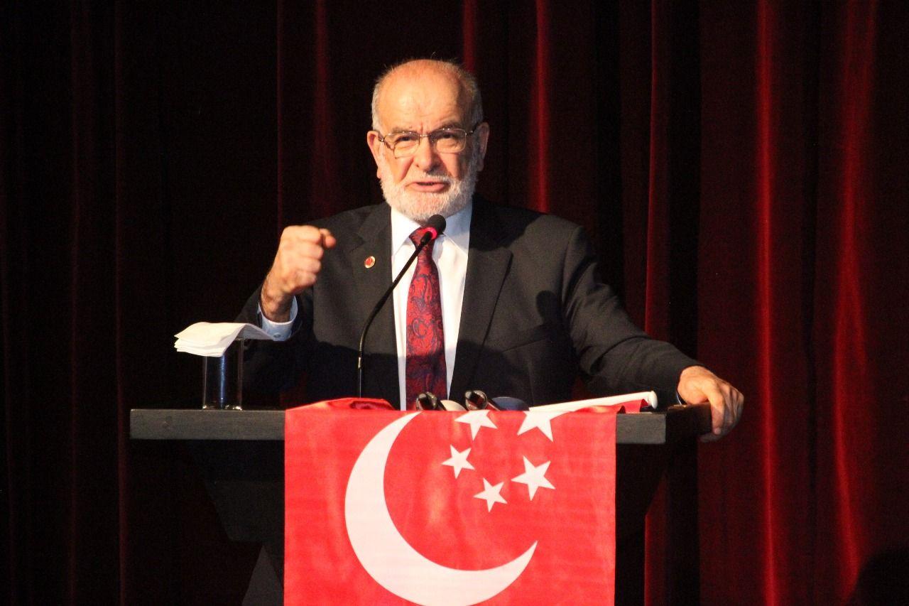 رئيس حزب السعادة التركي:  شاء من شاء وأبى من أبى