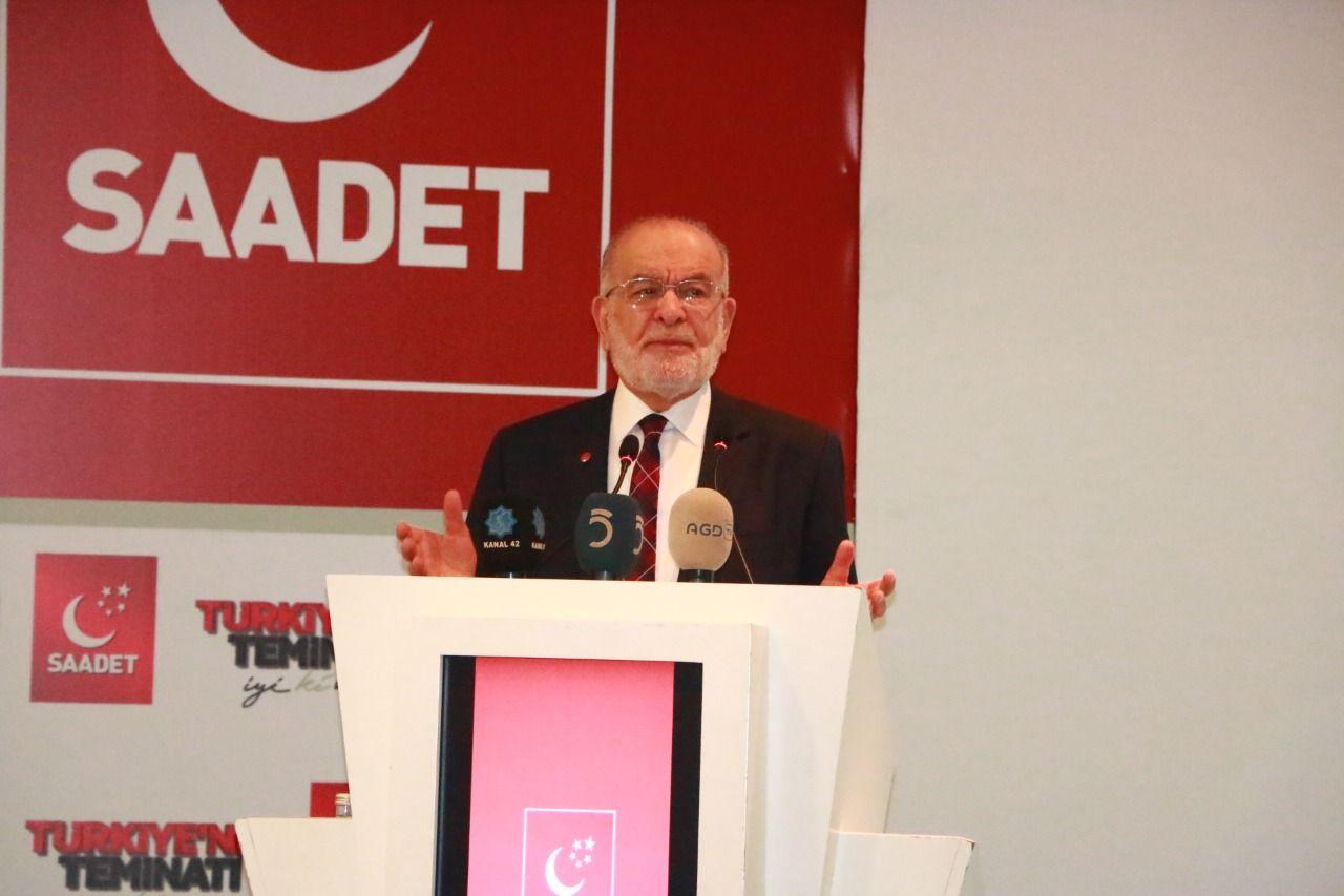 رئيس حزب السعادة: تركيا تحت التهديد