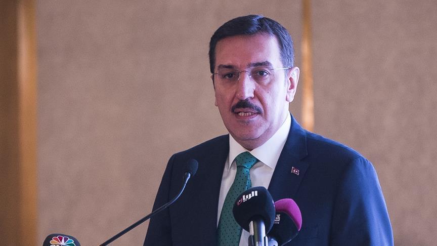 رئيس وزراء قطر يبحث مع توفنكجي تعزيز العلاقات الاقتصادية مع تركيا