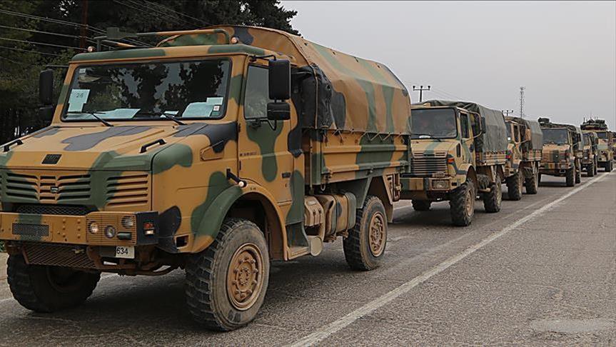 رتل تركي يصل ريف حلب الغربي لمراقبة