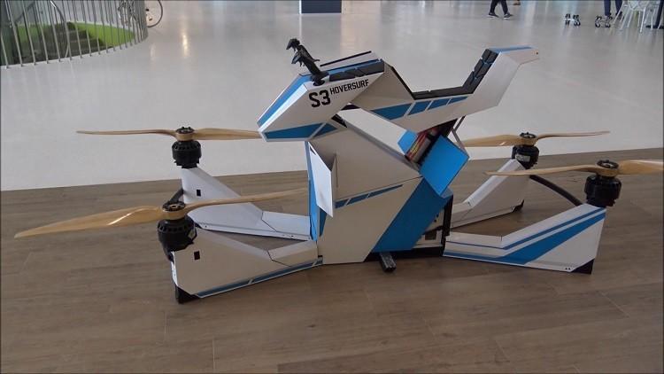 روسيا تعلن نجاح أول رحلة تجريبية لدراجة طائرة