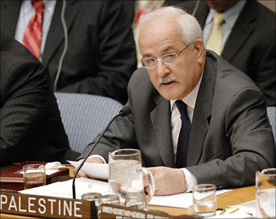 رياض منصور: نقل السفارة الأمريكية للقدس سيكون استفزازيا