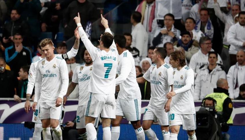 """ريال مدريد يستعيد التوازن بخماسية في شباك سوسيداد بـ""""الليغا"""""""