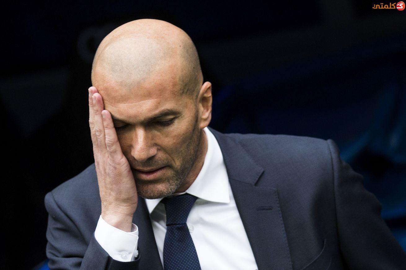 زيدان: طرد رونالدو في السوبر الإسباني قرار قاسٍ