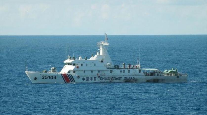 سفن صينية تبحر بالقرب من جزر تسيطر عليها اليابان