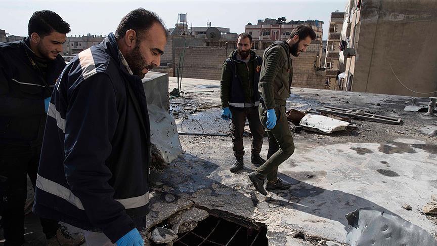 سقوط قذائف على كليس التركية مصدرها مواقع