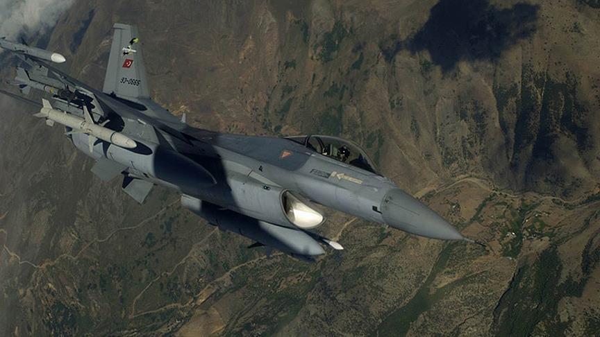 سلاح الجو التركي يدمر مواقع لـ