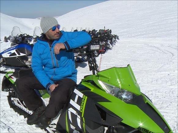 سياحة الثلج تنتعش في لبنان