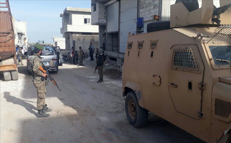 شرطة أعزاز تنشط في عفرين للقبص على اللصوص
