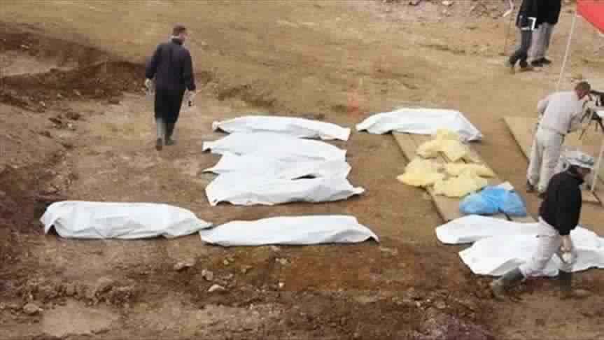 ضابط عراقي: العثور على مقبرة جماعية من ضحايا