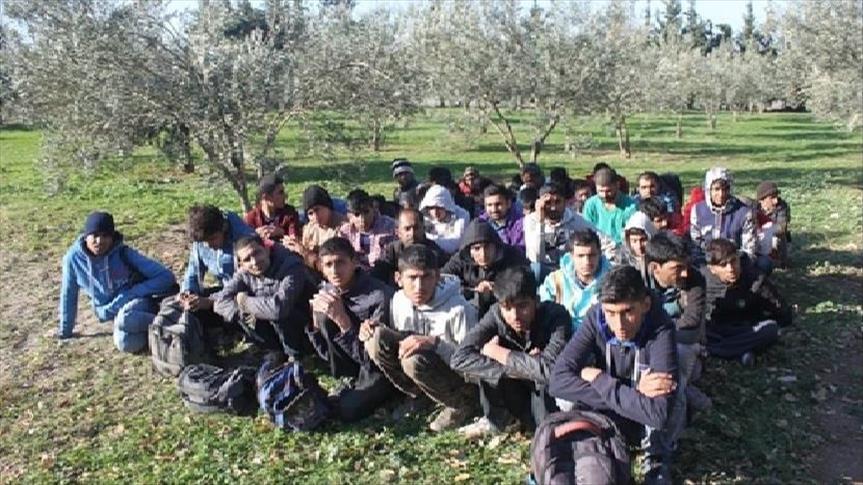 ضبط 97 مهاجرا غربي تركيا