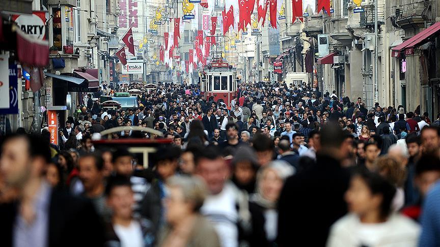 عدد سكان تركيا يصل نحو 81 مليون نسمة