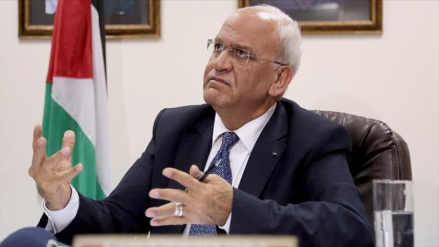 عريقات: الخطوات الأمريكية وصفة لتوسيع دائرة العنف في الشرق الاوسط