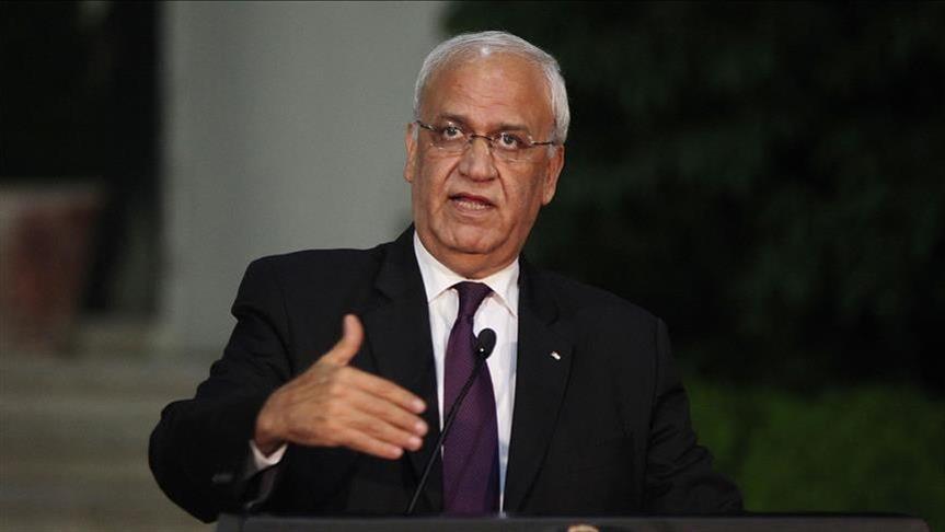 عريقات: نجري اتصالات دولية حول مخاطر قانون القومية الإسرائيلي