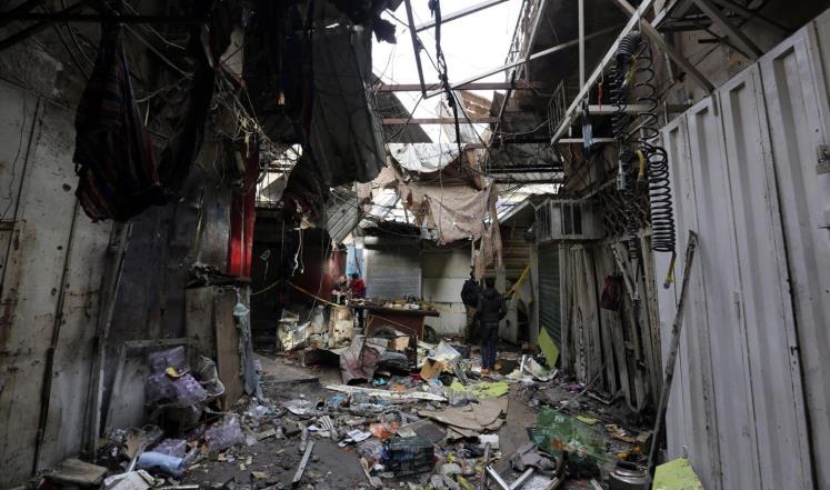 عشرات القتلى والجرحى بتفجير مفخخة ببغداد