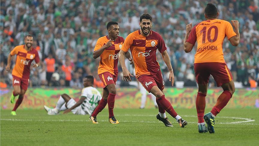 غلاطة سراي يجتاز بورصة سبور وينفرد بصدارة الدوري التركي