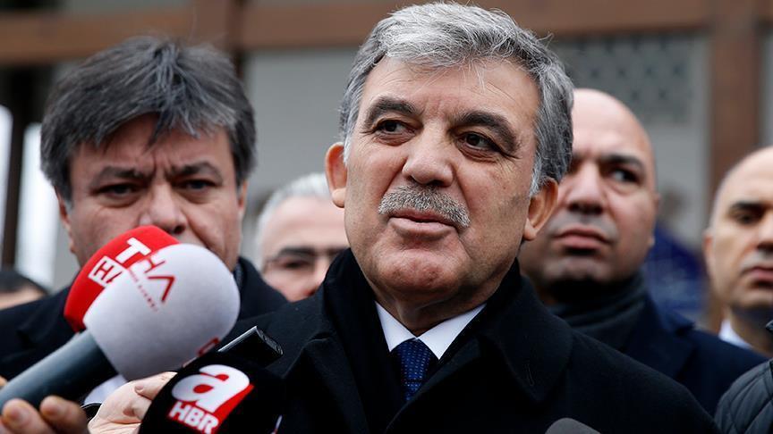 غُل: أعلن موقفي من الانتخابات المبكرة السبت