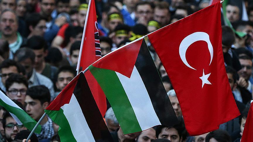 في مدن مختلفة.. أتراك ينظمون وقفات احتجاجية على أحداث غزة