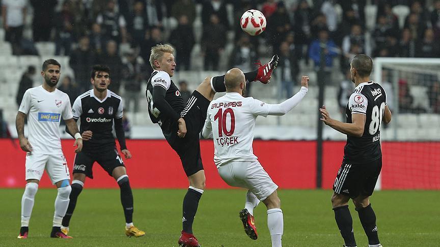 قدم: بشيكطاش يحقق انتصاره الثالث في كأس تركيا