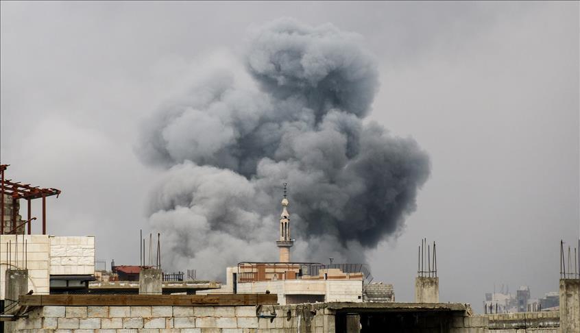 قصف إسرائيلي يستهدف مطلقي الطائرات الورقية الحارقة شرقي غزة