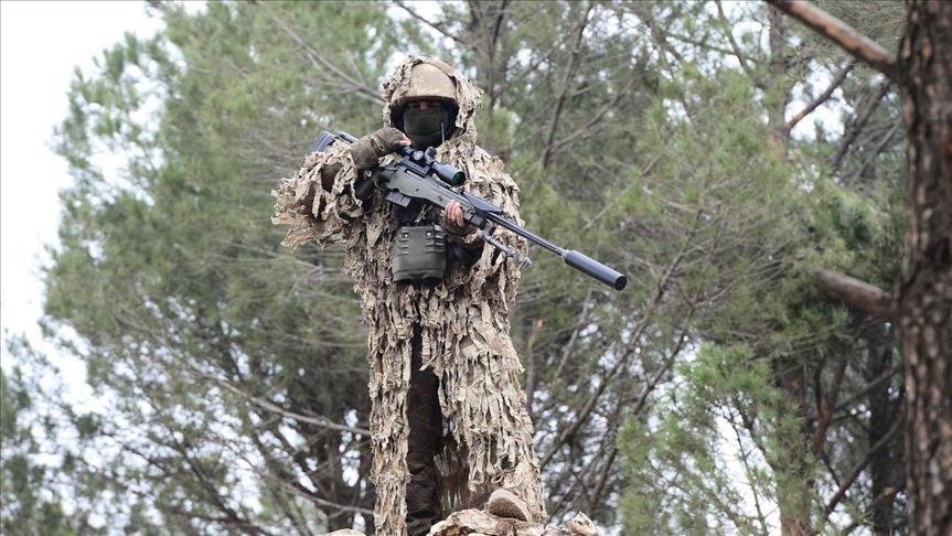 قناصة الجيش التركي.. كابوس الإرهابيين في عفرين