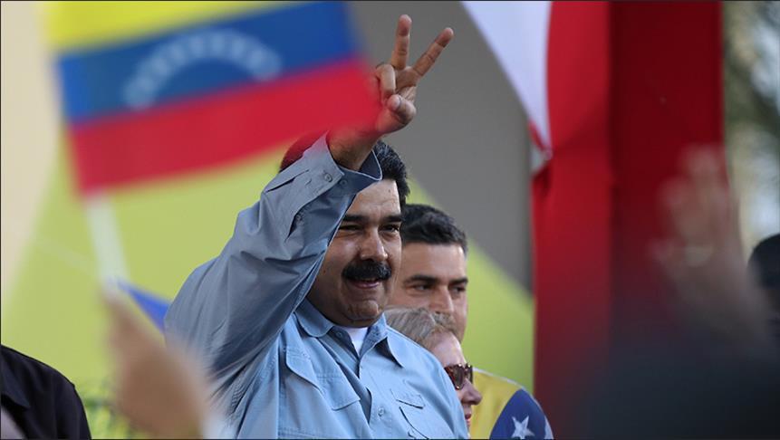 مادورو: هناك إمبراطورية أمريكية طامعة بثروات الفنزويليين