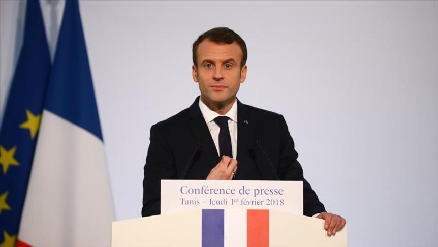 ماكرون: فرنسا ستضرب سوريا إذا ثبت استخدام الأسلحة الكيميائية ضد المدنيين