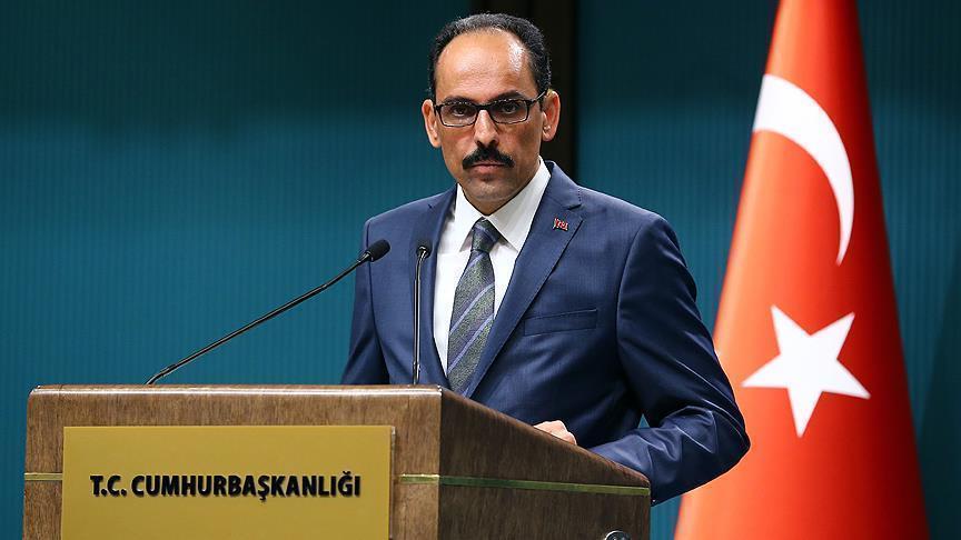 متحدث الرئاسة التركية : الوضع الاقتصادي بدأ في التحسن