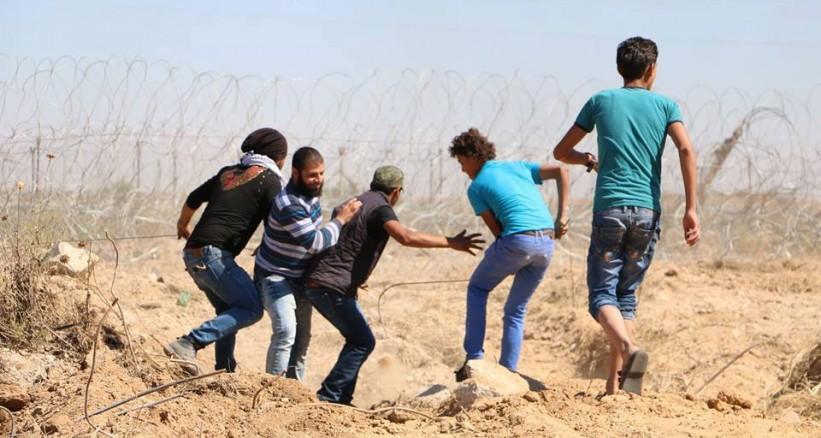مسيرات على حدود غزة رفضاً للحصار الإسرائيلي