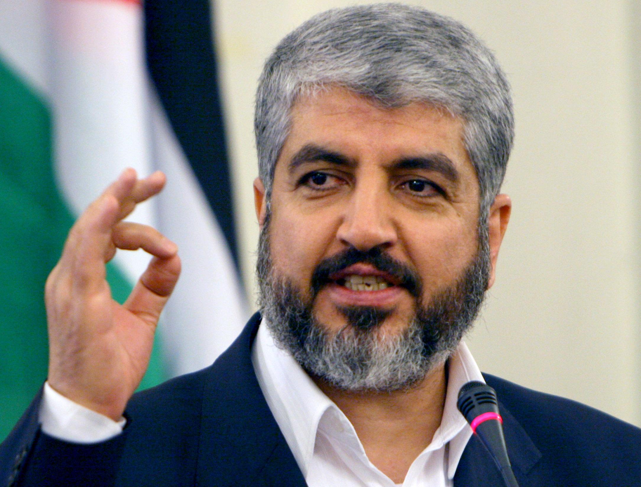 مشعل: سنجبر إسرائيل على الإفراج عن المعتقلين الفلسطينيين داخل سجونها