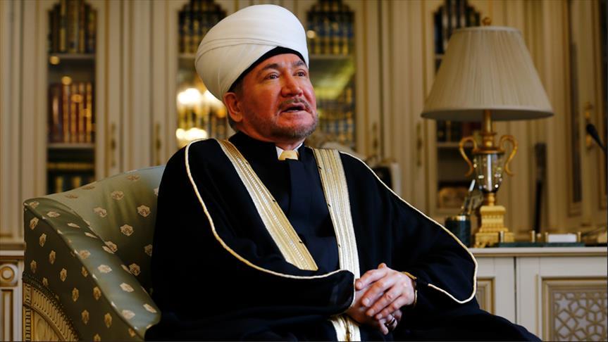 مفتي روسيا: لدينا 25 مليون مسلم يتعايشون مع بقية أطياف المجتمع