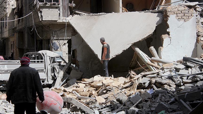 مقتل 19 مدنيًا في قصف النظام وروسيا على الغوطة الشرقية