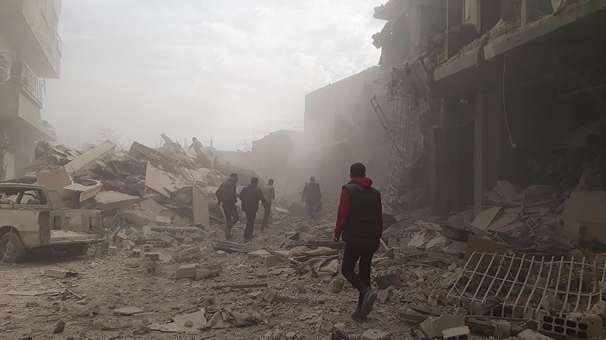 مقتل 25 مدنياً في قصف للنظام السوري على الغوطة الشرقية